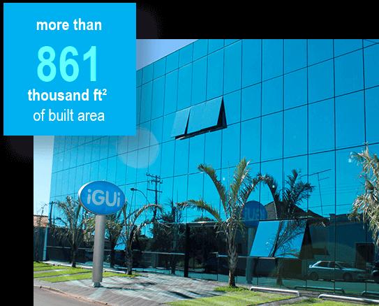 iGUi - Mais de 80 mil m2 de área construída